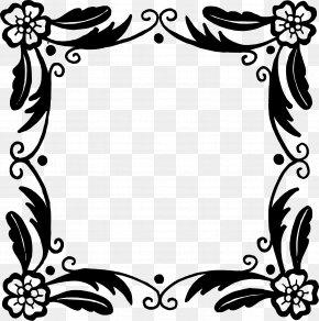 Vector Frame - Flower Picture Frames Floral Design Clip Art PNG