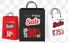 Black Friday Sale Bags Clipart Picture - Black Friday Sales Bag Clip Art PNG