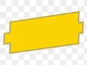 Yellow Frame Background - Picture Frame Structure Text PNG