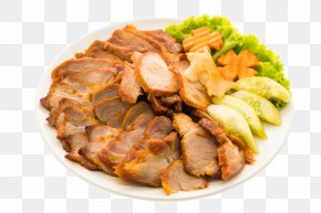 HD Barbecue - Barbecue Pig Roast Chinese Cuisine French Fries Asado PNG