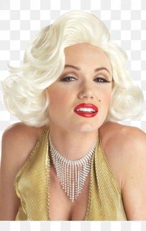 Marilyn Monroe - Marilyn Monroe 1950s Wig Blond Costume PNG