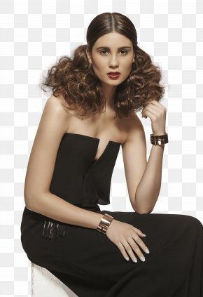 Hair Style Collection - Cosmetologist Model Hairstyle Fashion PNG