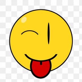 Tongue Out Cliparts - LOL Smiley Face Emoticon Clip Art PNG