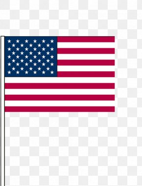 Hand-painted Flag - Flag Of The United States Annin & Co. Independence Day Clip Art PNG