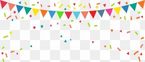 Rave Party Flag - Bunting Banner Flag Clip Art PNG