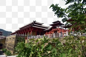 Emperor Qin Palace Pictures - Roof Home Property House Villa PNG