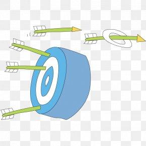 Arrow And Target - Arrow Drawing PNG