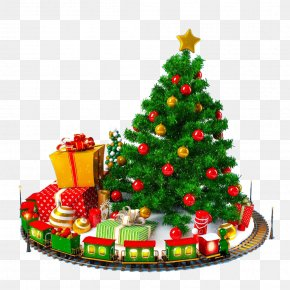 Christmas Pattern - Christmas Tree Gift New Year Holiday PNG