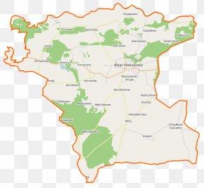 Map - Map Wikipedia Urban-rural Municipality Of Poland Gmina Greater Poland Voivodeship PNG