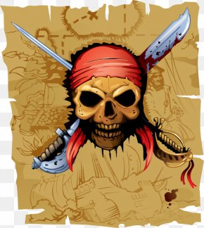 Pirate Flag - Piracy Cdr Clip Art PNG