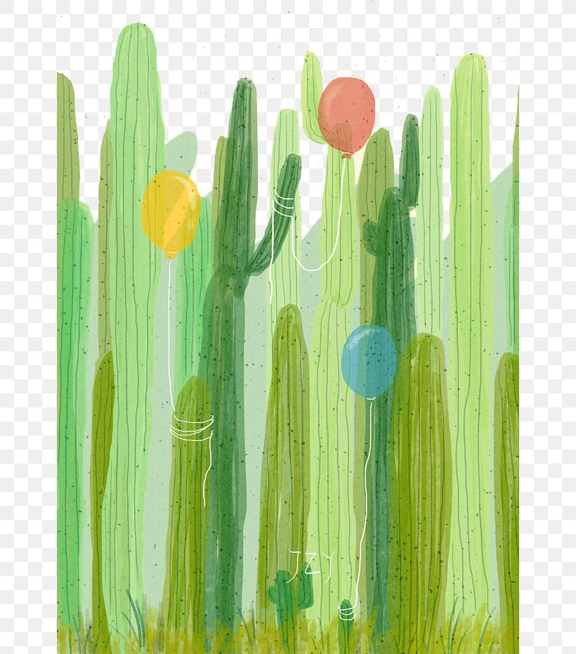 Cactaceae Watercolor Painting Drawing, PNG, 658x931px, Cactaceae, Acrylic Paint, Cactus, Drawing, Flower Download Free