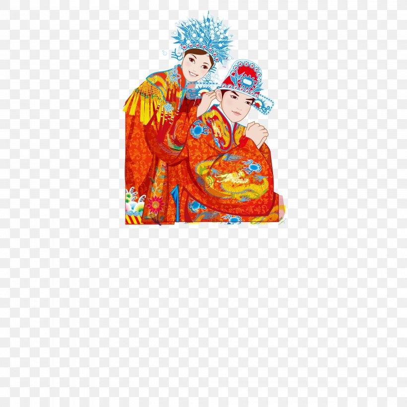 Wedding Photography Chinese Marriage, PNG, 4000x4000px, Wedding Photography, Art, Blue, Bride, Cartoon Download Free