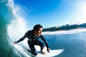 Surfing - Surf Spot Surfing 2020 Summer Olympics Surfboard Headphones PNG