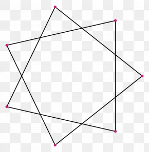 Polygon - Heptagram Star Polygon Regular Polygon PNG