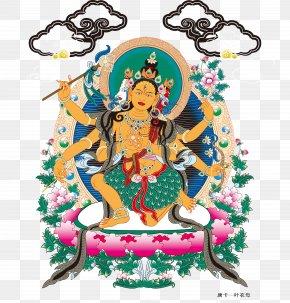 Southeast Asia - Tibet Thangka Caishen Buddhahood Buddhism PNG