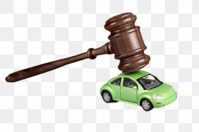 Auction Hammer And Car - Auto Auction Car PNG