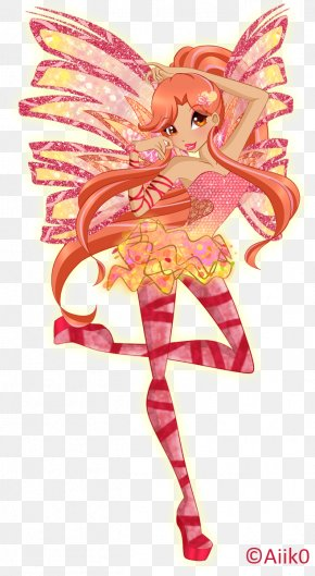 Fairy Wings Cosplay - Fairy Bloom Musa Sirenix Stella PNG