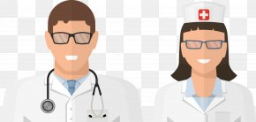 Doctors And Nurses Vector - Nurse Physician Illustration PNG