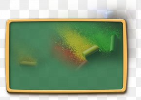 Green Chalkboard - Blackboard Green PNG