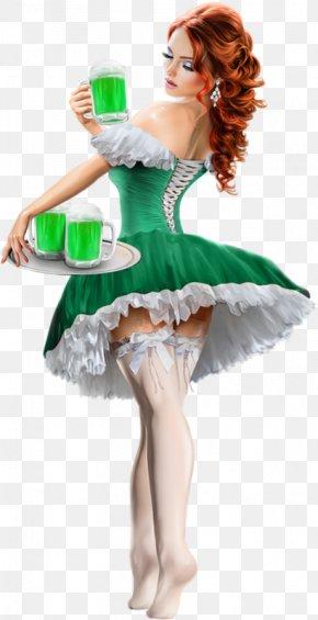 Saint Patrick's Day - Saint Patrick's Day 17 March Woman Ireland PNG