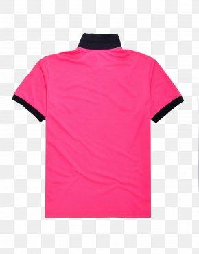 Purple Pink Ladies T-shirt - T-shirt Polo Shirt Jersey Ralph Lauren Corporation PNG