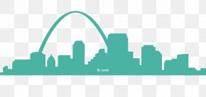 St Louis - Drawing Skyline Silhouette Prison University Project PNG