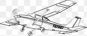 Airplane - Cessna 172 Airplane Cessna 182 Skylane Aircraft PNG