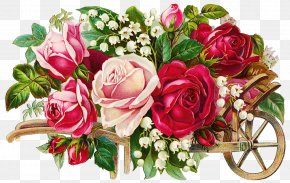 Flower Illustration - Flower Of The Fields Birthday Flower Bouquet Party PNG