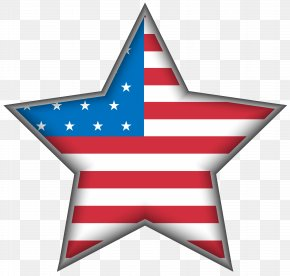 USA Star Clip Art Image - United States Independence Day Clip Art PNG