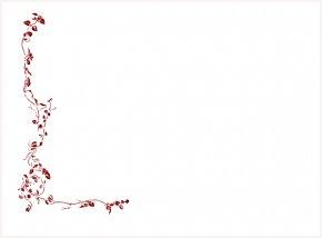 Rose Page Border - White Wine Common Grape Vine Rosxe9 Clip Art PNG