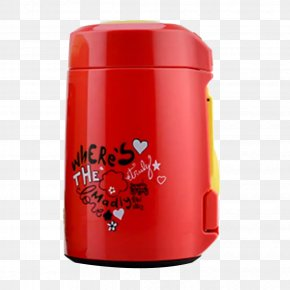 Bottle Red Rice - Small Appliance Cylinder PNG