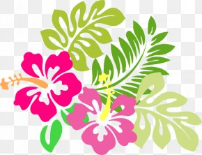 April Showers Cliparts - Hawaiian Flower Clip Art PNG