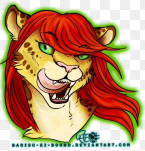 Tiger - Tiger Lion Nose Illustration Whiskers PNG