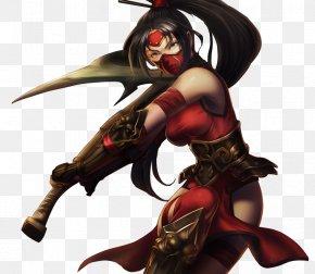 League Of Legends - League Of Legends Akali Video Game Riot Games Crimson PNG