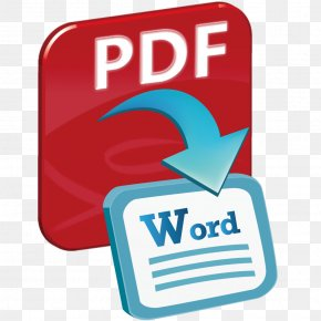 Word - Portable Document Format Data Conversion PNG