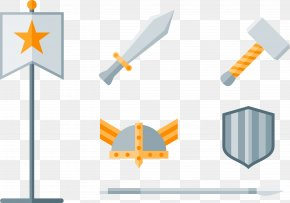 Weapon Tools - Shield Weapon Euclidean Vector PNG