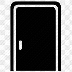 Door Vector Drawing - Door Mobile Phones Clip Art PNG
