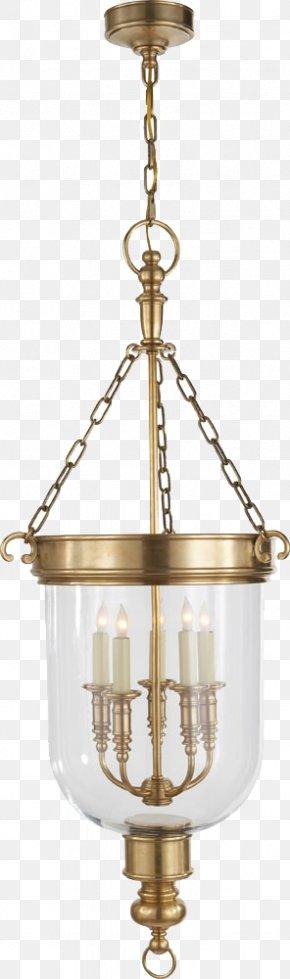 3d Cartoon Chandelier Decorative Pattern - Lighting Chandelier Glass Brass PNG