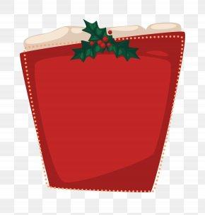 Winter Christmas Theme Frame - Christmas Gift Gratis Icon PNG