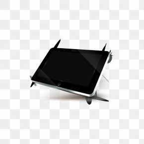 Silver Black Tablet PC - IPad 2 Microsoft Tablet PC Computer Laptop PNG