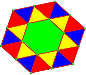 Hexagonal - Triangle Circle Area Point PNG