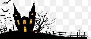 Halloween - Halloween Haunted Attraction Holiday Wallpaper PNG