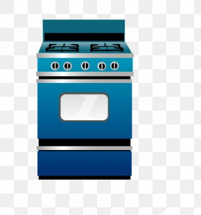 Vector Hand-painted Kitchen - Kitchen Stove Gas Stove Home Appliance PNG
