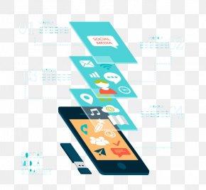 Online Social Media Smartphone Information Map Vector - Social Media Smartphone Mobile App Information PNG