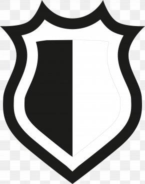 Black Shield - Flat Design Shield Clip Art PNG