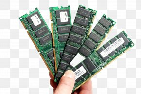 Computer - RAM Computer Memory Central Processing Unit Computer Data Storage PNG