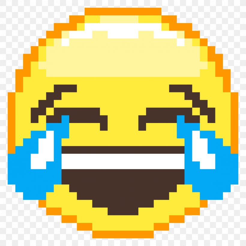 Pixel Art Face With Tears Of Joy Emoji Minecraft Png