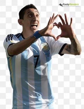 Di Maria - T-shirt Ángel Di Maria Thumb Argentina National Football Team Sleeve PNG
