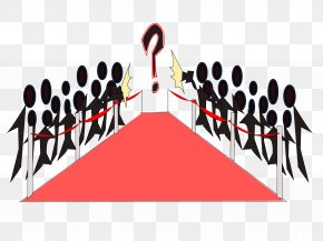 Red Carpet - Celebrity Movie Star Clip Art PNG