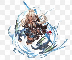 The Short Hair That Is Surprised By The Mouths Of - Granblue Fantasy YouTube Summer Character Tiamat PNG